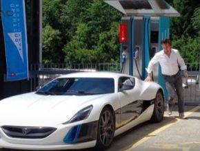 auto RIchard Hammond Rimac Concept One elektromobil nehoda