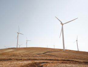 větrné elektrárny turbíny