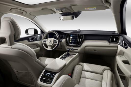 Interiér nového SUV Volvo XC60