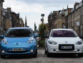 auto elektromobily Renault-Nissan