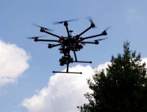 E.ON dron DJI kontrola rozvodných sítí