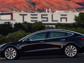 auto elektromobily Tesla Model 3