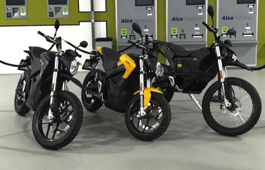 Alza elektromotorky Zero Motorcycles