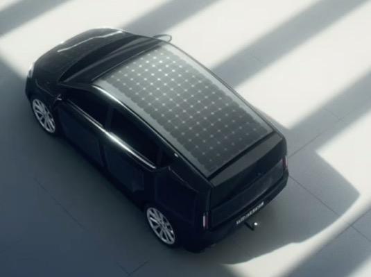 Solární auto Sion