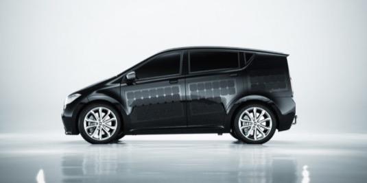 auto elektromobil Sono Sion solární elektroauto