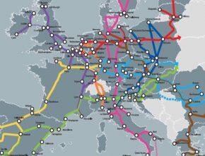 auto Transevropská dopravní síť TEN-T