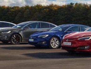 auto elektromobily Tesla Model S a Model X