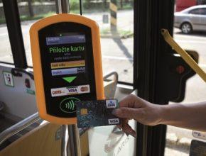 auto Ostrava bezkontaktní platby validátor jízdenek