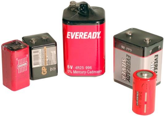 zinkové baterie