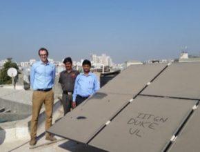Střešní solární elektrárny v aglomeracích se silně znečištěným ovzduším v Indii a Číně nejsou tak výkonné, jak by člověk čekal.