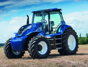 Traktor byl představen návštěvníkům veletrhu a online divákům po celém světě v živém vysílání ze stánku New Holland.