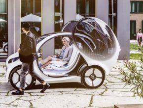 auto elektromobil koncept smart vision EQ fortwo