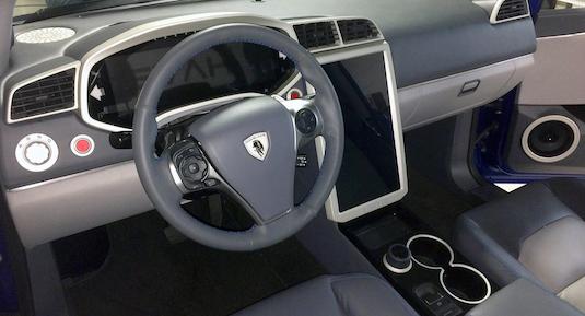 auto Havelaar Bison: elektrický pick-up
