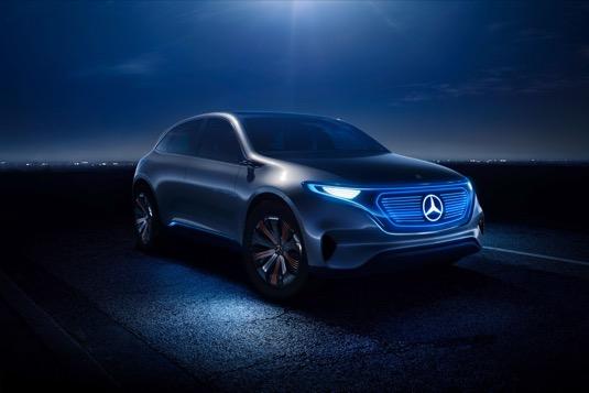 auto elektromobil Mercedes-benz EQ