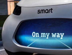 auto elektromobil Smart robotický vůz