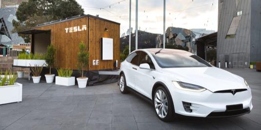 Malý domek Tesla Tiny House si mohli prohlédnout např. obyvatelé Melbourne