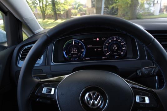 test elektromobilu Volkswagen e-Golf