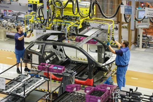 auto výroba elektromobilů BMW i3 továrna Lipsko