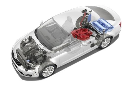 Meziroční růst prodejů ojetých vozů Škoda Octavia G-TEC o více než 300. Za prvních osm měsíců roku prodáno téměř 28 000 prověřených ojetých vozů.