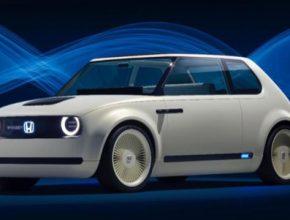 auto elektromobil Honda Urban EV Concept
