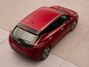 auto elektromobil nový Nissan Leaf 2. generace