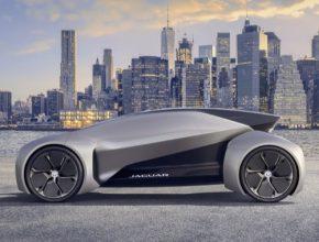Koncept FUTURE TYPE ukazuje, jak bude podle automobilky Jaguar vypadat sdílený vůz schopný autonomního řízení.
