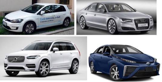 Doprovodnou akcí konference je také výstava aut na alternativní paliva