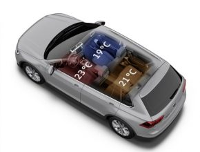 auto Volkswagen klimatizace filtr
