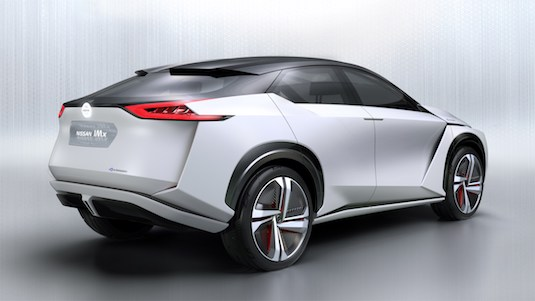 auto elektromobil Nissan IMx