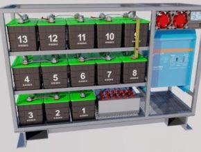 auto baterie HE3DA PowerBox domácí úložiště elektřiny