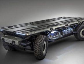 auto GM Surus robotické nákladní auto