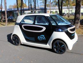 auto robotické auto MBtech LINK & GO