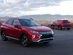 auto Mitsubishi SUV plug-in hybrid