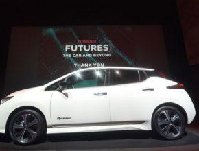 auto nový elektromobil Nissan Leaf