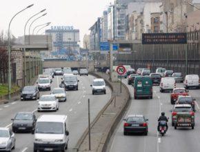 auto Paříž silnice auta