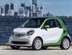 auto elektromobil Smart ForTwo ED
