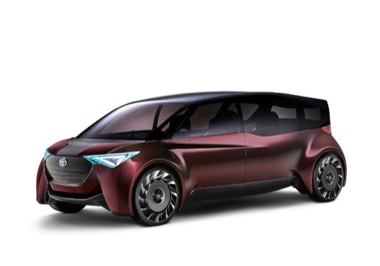 auto elektromobil vodíkové auto Autosalon Tokio 2017: Toyota představuje nové osobní vodíkové auto Fine-Comfort Ride