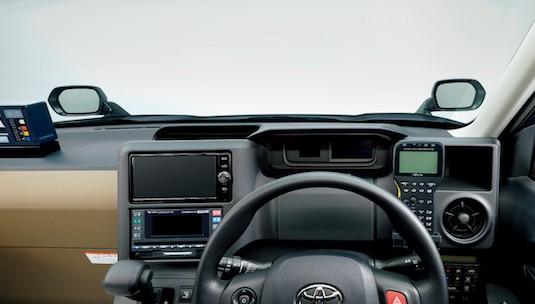 auto Toyota JPN Taxi hybrid lpg