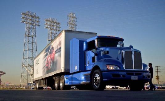 auto vodíkový kamion na palivové články Toyota