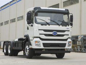 auto továrna nákladní auta BYD T9