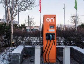 auto dobíjecí stanice pro elektromobily Reykjavík Island ON Power