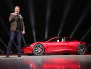 auto elektromobil Tesla Roadster nové generace