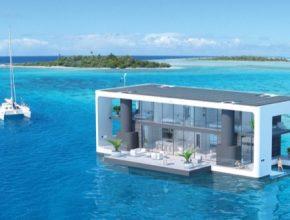 hausbot loď Arkup bydlení budoucnosti