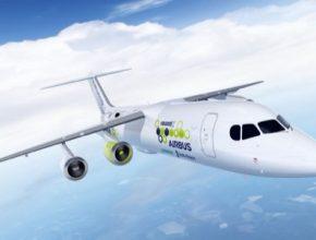 elektrické hybridní letadlo E-Fan X společností Airbus, Rolls-Royce a Siemens