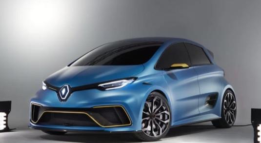 auto elektromobil Renault Zoe Čína