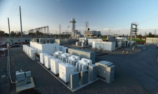 Hybridní špičková elektrárna SCE, Kalifornie, USA