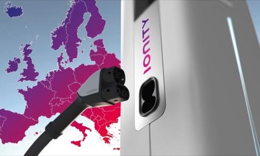 auto Ionity evropská síť nabíjecích stanic pro elektromobily