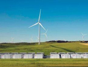 větrná farma Jižní Austrálie Hornsdale bateriový úložný systém Tesla PowerPack