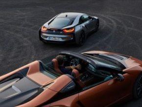 auto plug-in hybrid nový BMW i8 Roadster a Coupe