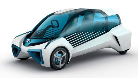 auto koncept Toyota FCV Plus na autosalonu Tokio 2015
